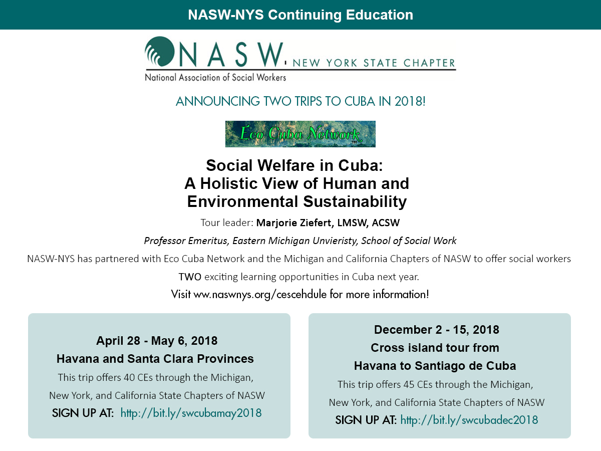 NASW-NYS Continuing Education Schedule - NASW-NYS