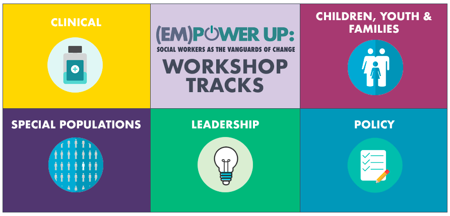 Major Statewide Transition Conference >> 2019 Em Power Up Conference Workshops Announced Nasw Nys
