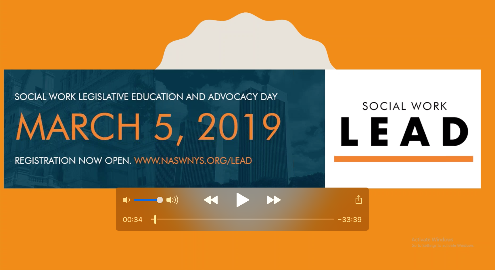 Legislative Education and Advocacy Day (LEAD) - NASW-NYS