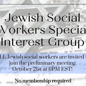 JewishSocialWorkerSIG